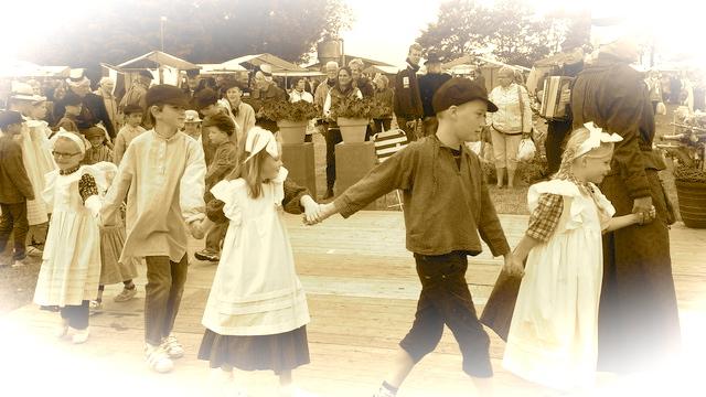 Kinderen dansen